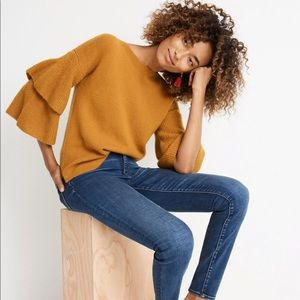 Madewell Tier Sleeve Pullover Sweater